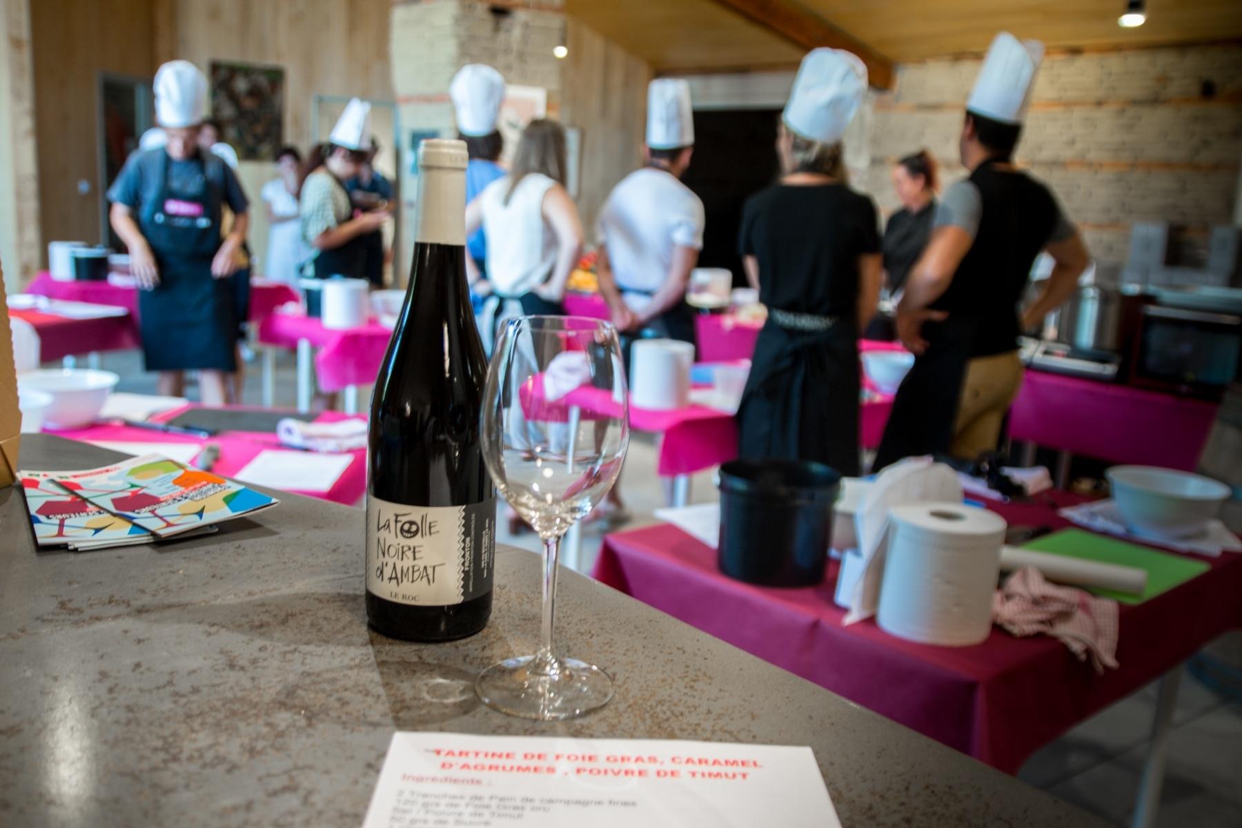 Cours de cuisine Le Roc chefs