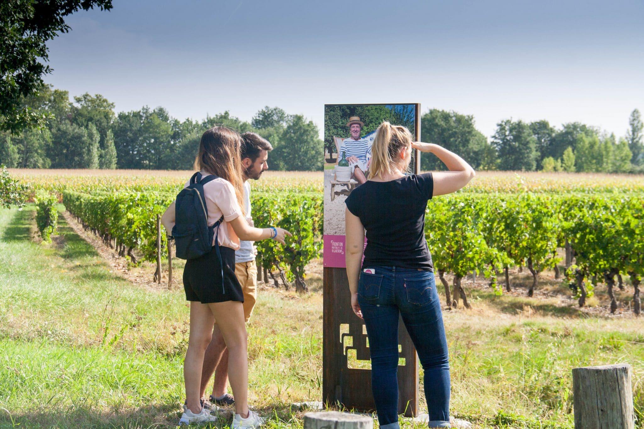 Vitirando portraits de vignerons © Maison des Vins Fronton